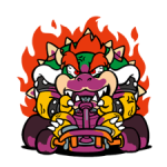 Autocollants Mario Kart 3