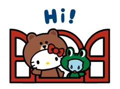 LINE FRIENDS & HELLO KITTY 3