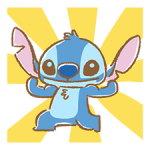 Stitch Cuteness Stickers 3