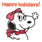 Wonderful Winter Snoopy Stickers 3