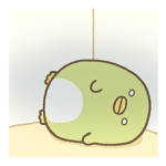 Sumikko Gurashi Autocollants coin 3