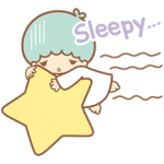 Little Twin Stars Sparkling Stickers 7