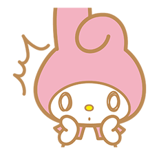 My Melody Sticker 2