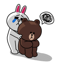Brown & Cony's Thrilling Date Stickers 3