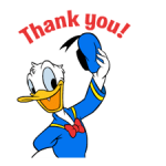 Donald Duck Adhesius 3