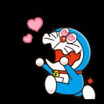 Doraemon наклейки 3 3