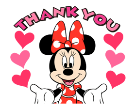 Minnie Mouse Stickers 2