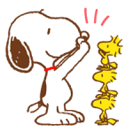 SNOOPY & Woodstock Stickers 5