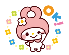 SANRIO CHARACTERS3 (Cartoons) Stickers 24