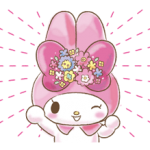 My Melody: Too Cute for You! Stickers 4