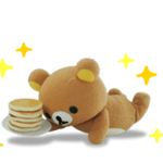 Rilakkuma Movie klistremerker 26