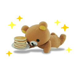 Rilakkuma film Stickers 26