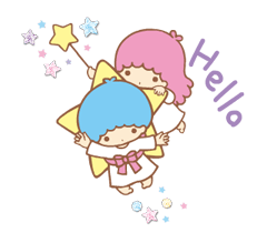 Little Twin Stars: Twinkly Stickers 4