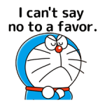 Doraemon: Quotes Stickers 4
