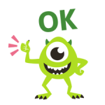 monsters, Inc. stickers 4