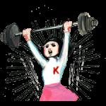 Keiko Sootome klistermærker 4