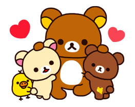 Rilakkuma~Korilakkuma with a new friend~ Stickers 4