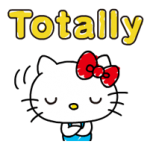 Hello Kitty's Quick Antwoorden! stickers 4