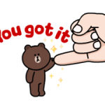 Brown en Cony Maat Pack Stickers 4