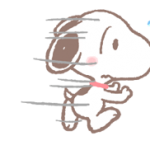 Lovely Snoopy Stickers 2 4