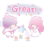 Little Twin Stars: Dreamy Stickers 15