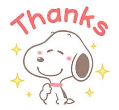Lovely Snoopy Stickers 4