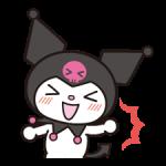 Kuromi स्टिकर 4