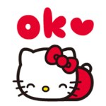CARACTERE Sanrio × moni moni ANIMALE Stickere 10