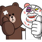 LINE Characters: Overreaction! Stickers 13