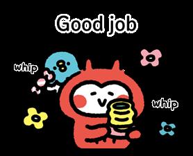 Kanahei's Komimizuk Stickers 4