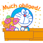 Doraemon's Everyday Expressions Stickers 4