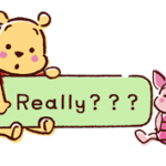 Winnie the Pooh hincha etiquetas del habla 4