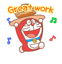 Doraemon & Dorami Stickers 4