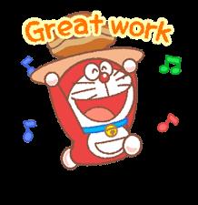 Doraemon & Dorami klistremerker 4