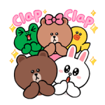 LINE Characters: Cute and Soft Stickers 4