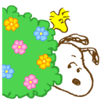 Super Spring Snoopy Stickere 4