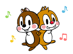 Chip 'n' Dale: Properly Cute Stickers 4
