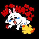 LINE Characters Geluid uit! stickers 18
