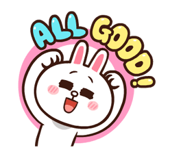 LINE Characters: Pretty Phrases Stickers 4