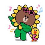 LINE Characters: Leuk en Soft Summer Stickers 4