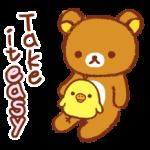 Rilakkuma~Kiiroitori Diary~ Stickers 4
