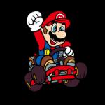 Αυτοκόλλητα Mario Kart 4