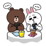 Brown & Cony's Thrilling Date Stickers 4