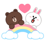 LINE Characters: Pastel Cuties Stickers 4