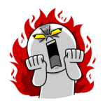 LINE Characters: Burning Emotion Stickers 4