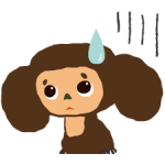 Cheburashka Stickers 3
