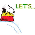 Stickers Snoopy 4