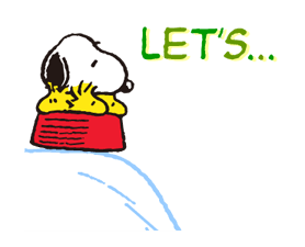 SNOOPY Stickers 4