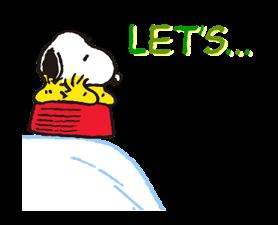 Snoopy Наклейки 4