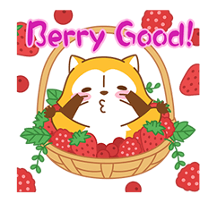 Rascal Fruity Feast Stickers 6